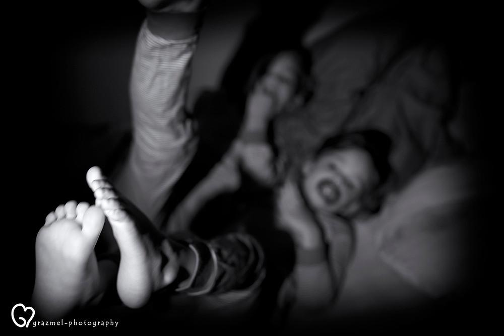 irány az ágy, dokumentarista család fotózás