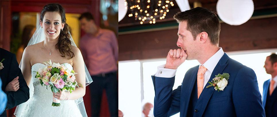 érzelmes esküvői szertartás Budapesten