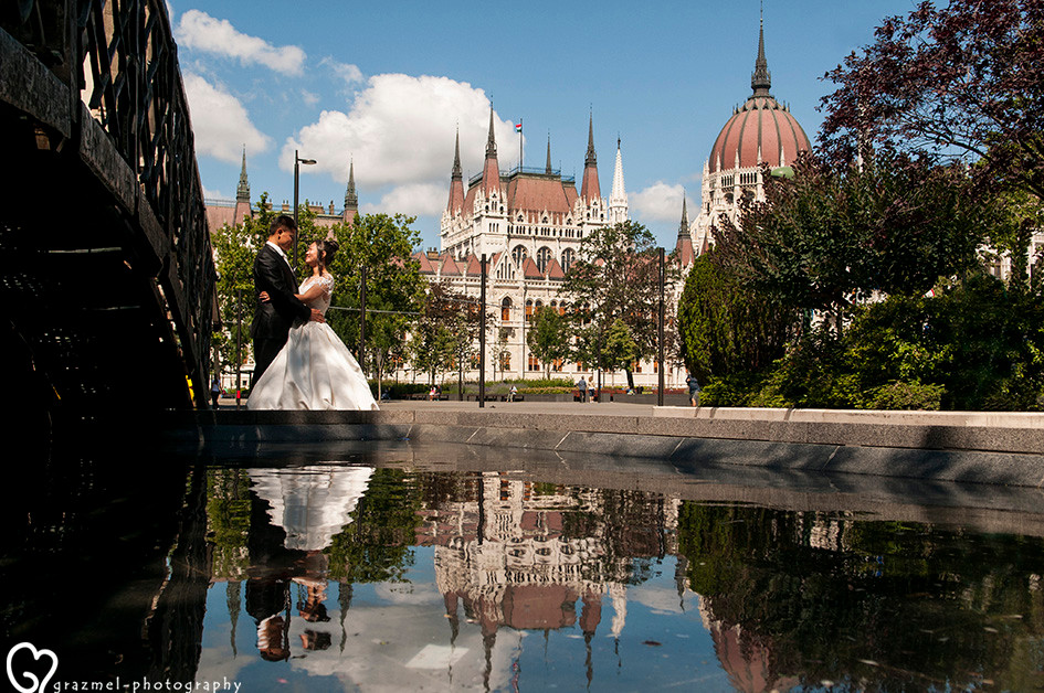 pre wedding shooting in Budapest