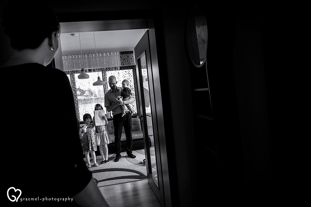 Ajándék Anyának, dokumentarista család fotózás