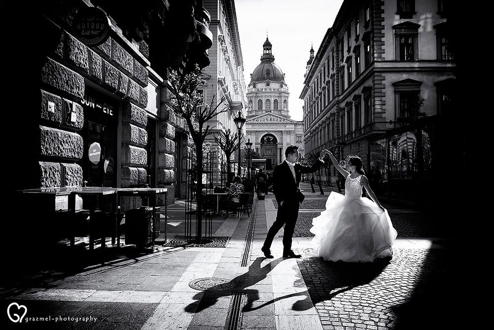 wedding photographer Hungary, esküvő fotós Budapest,  esküvő fotózás, wedding in Budapest