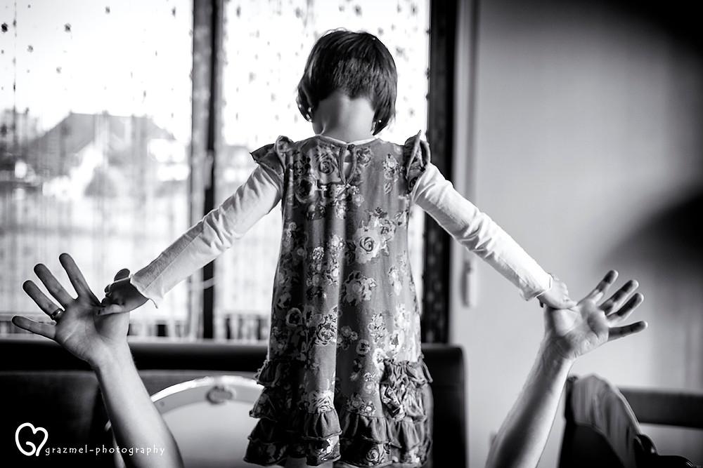 játék Apával, dokumentarista család fotózás