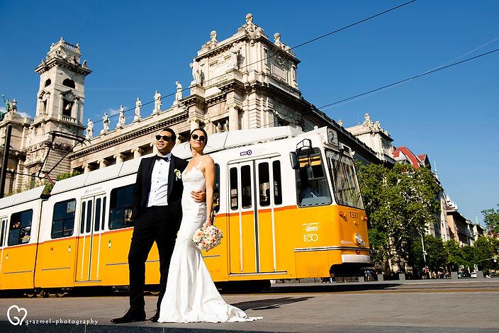 wedding photographer Budapest, Hungary