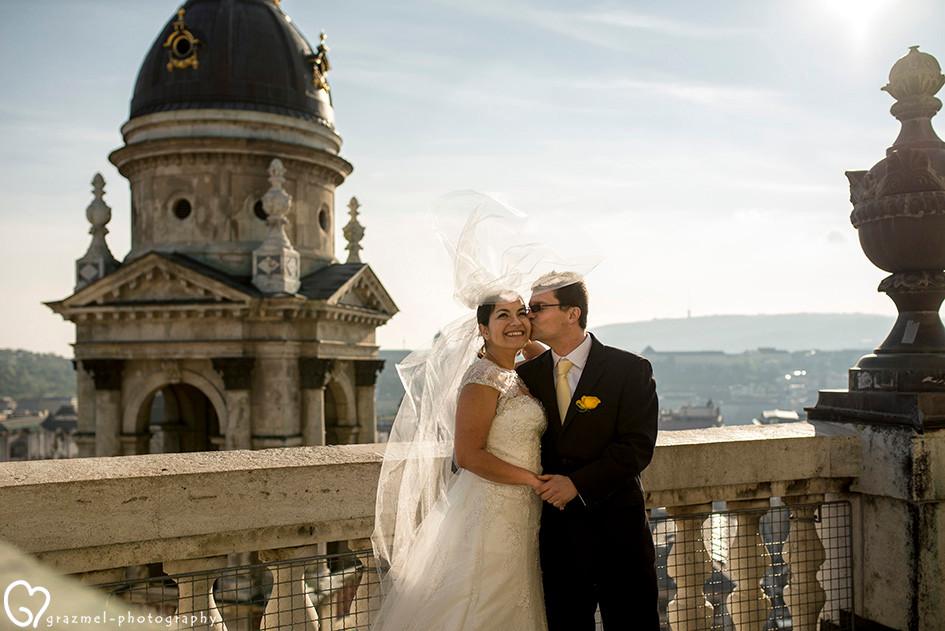 Venezuelan Wedding in Budapest