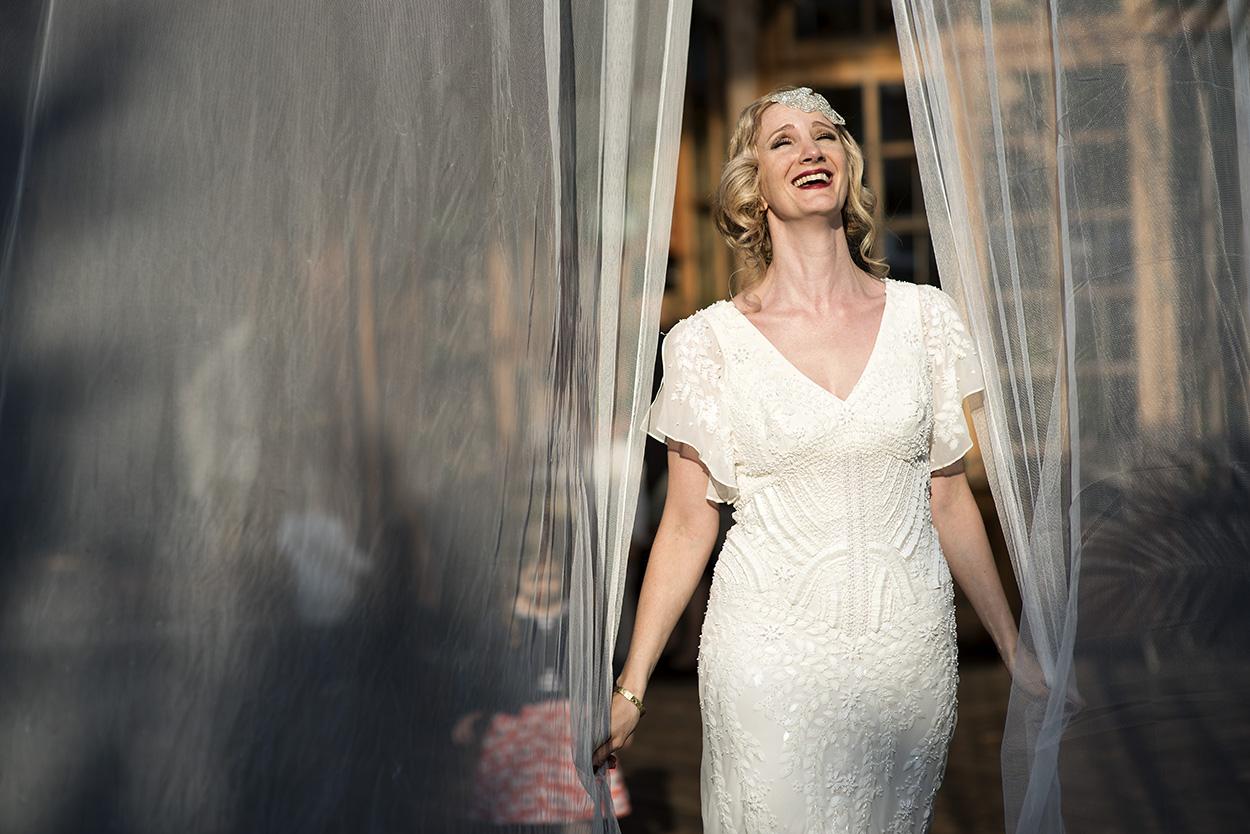 Bridal portrait in Vienna