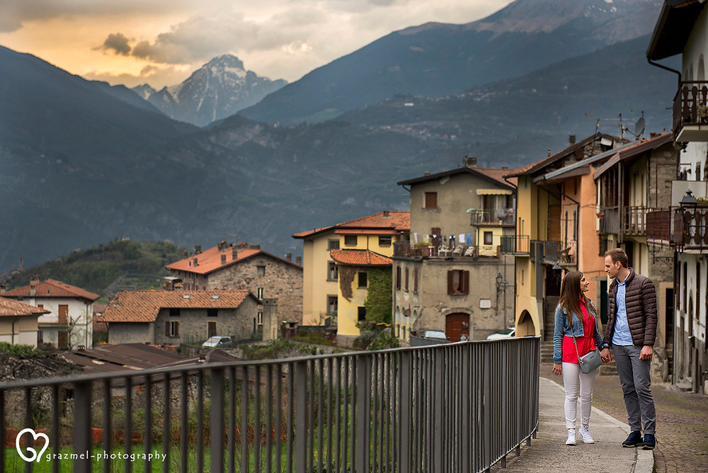 E-session between the small streets of Bienno (Italy)