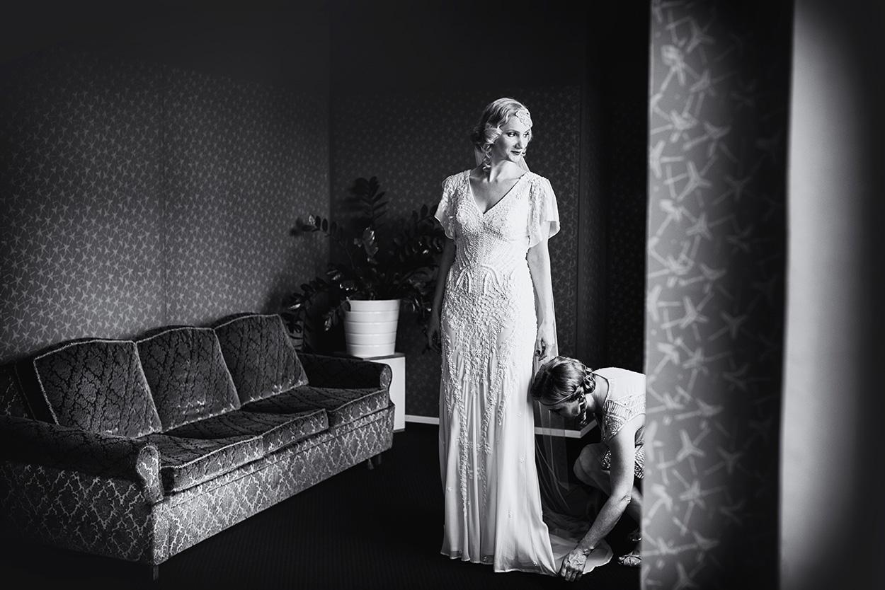 bridal getting ready in Vienna