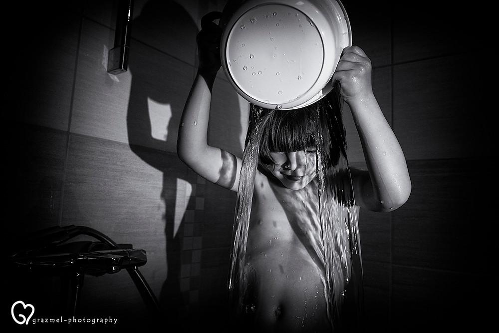 esti fürdés, dokumentarista család fotózás