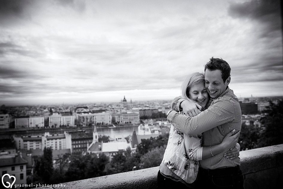 Romantic  surprise Proposal in Budapest