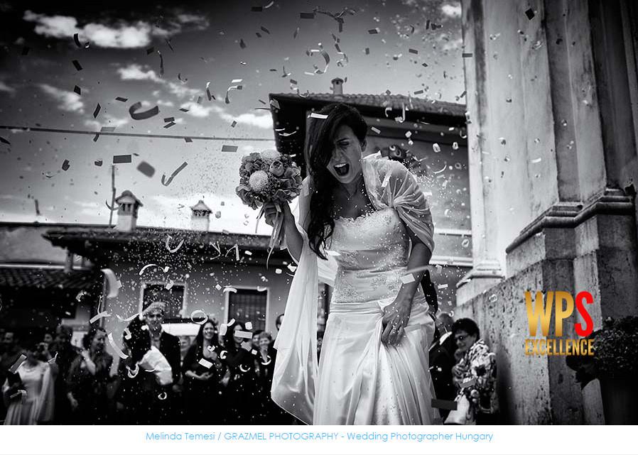 nemzetközi esküvői fotós díj, WPS Excellence Award for Grazmel Wedding Photography Budapest