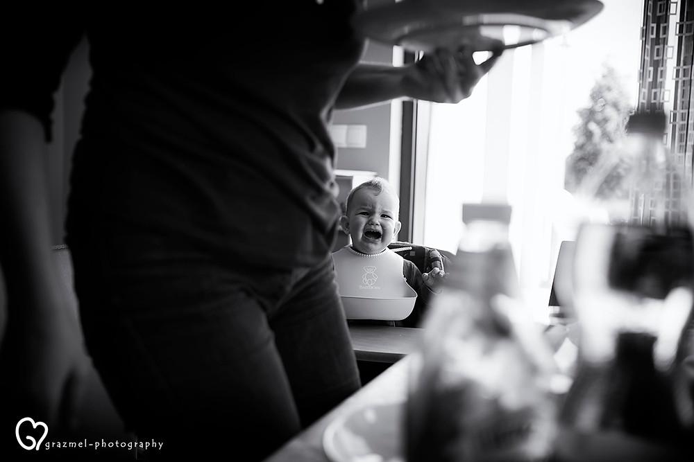 ebéd, dokumentarista család fotózás