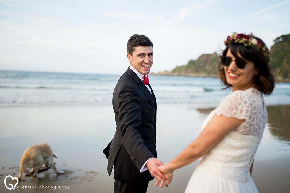wedding by the Spanish Ocean