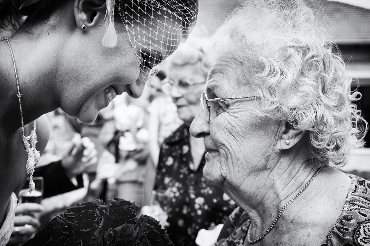 grandma with the bride