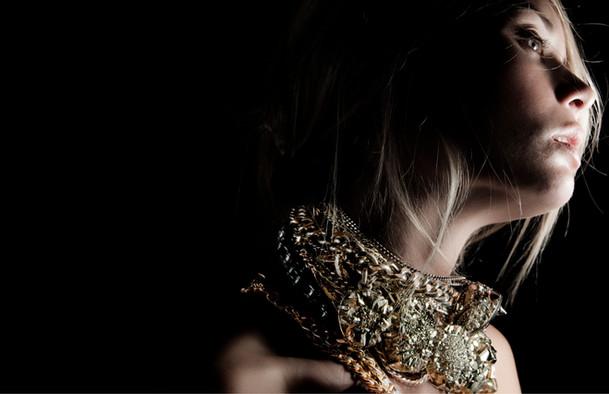 Michelle Laine Pyrite Necklaces