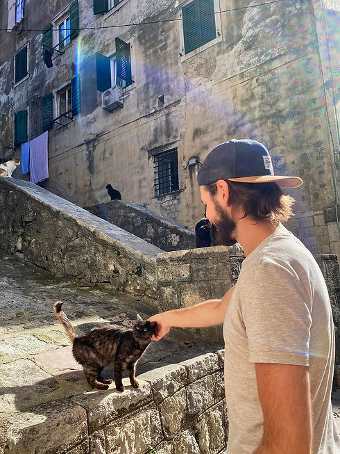 Chris from Giving Getaway in Kotor (City of Cats)