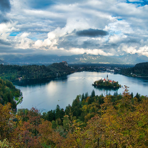 Mount Ojstrica at Lake Bled (Photo by Giving Getaway)