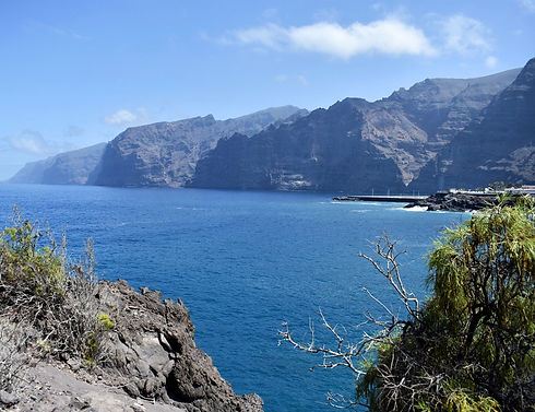 Los Gigantes in the North of Tenerife