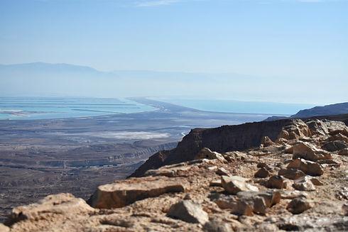 View of Judean Desert from Masada (Giving Getaway)