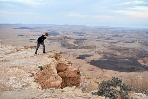 Makhtesh Ramon in the Negev Desert