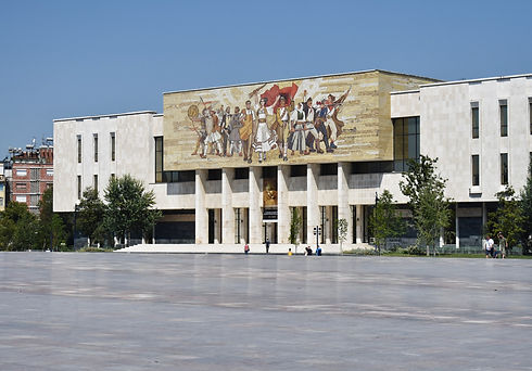 Skanderbeg Square in Tirana (Image by Anna Osowska)