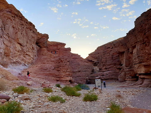 Exploring the Negev Desert in Israel
