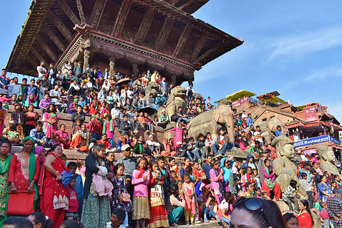 Bhaktapur in Nepal (Image by Anna Osowska)