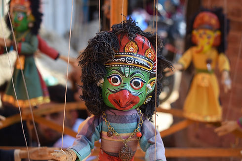 Traditional Nepalese Puppet (Image by Anna Osowska)