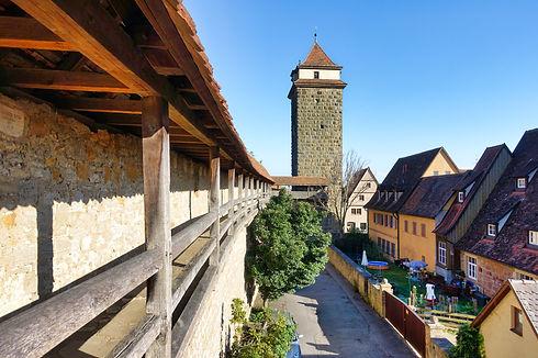 City Wall, Rothenburg ob der Tauber