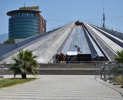 Pyramid of Tirana (Image by Anna Osowska)