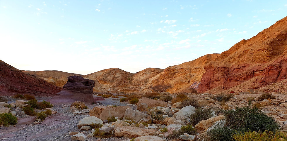 The Endlessness of the Negev Desert (Giving Getaway)