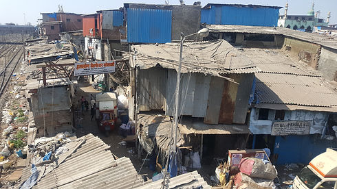 Dharavi slum in Mumbai, India (1)