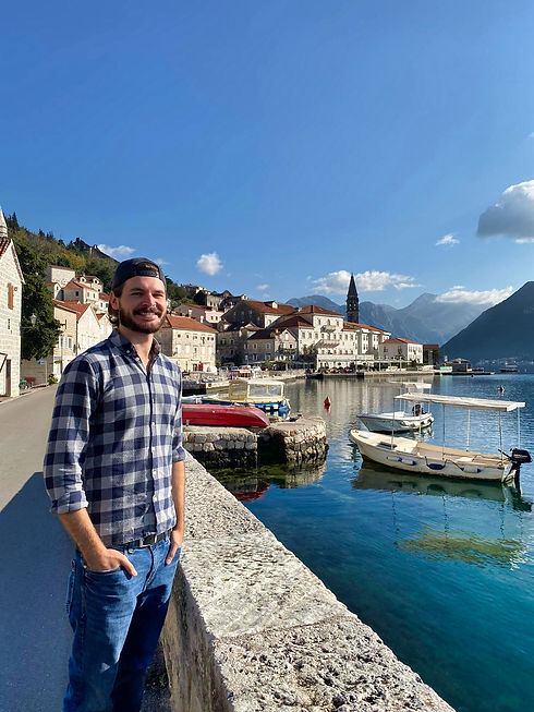 Chris from Giving Getaway in Perast