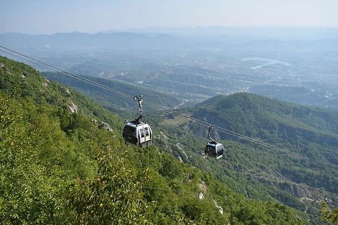 Dajti Mountain near Tirana (Image by Anna Osowska)
