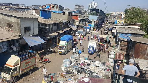 Streets of Dharavi, Mumbai