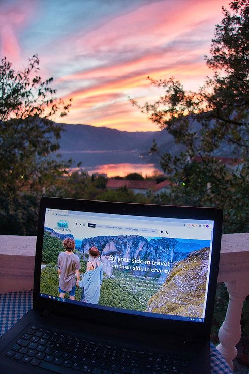Sunset in Risan, Kotor Bay, Montenegro
