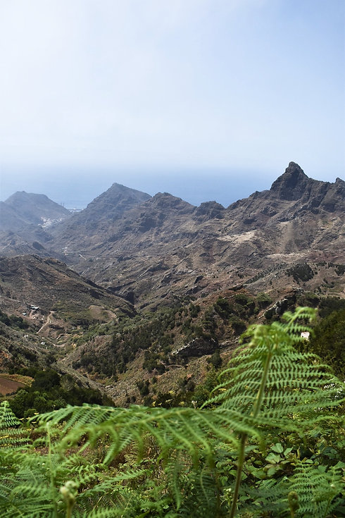 Anaga Mountains in North Tenerife