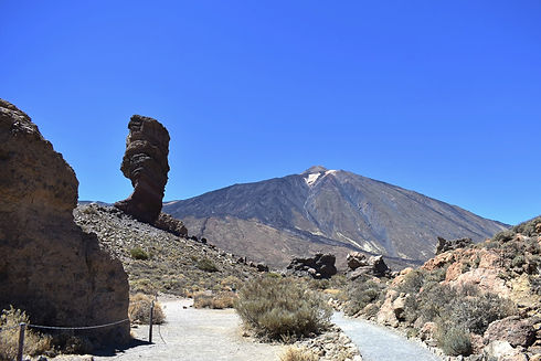 God's Finger in Teide National Park