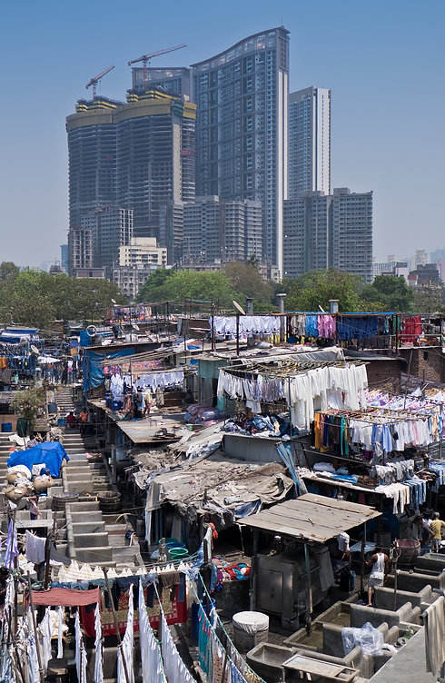 Dharavi slum in Mumbai, India (3)