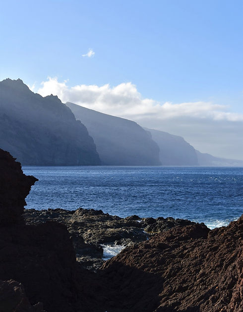 Coastal View in North Tenerife