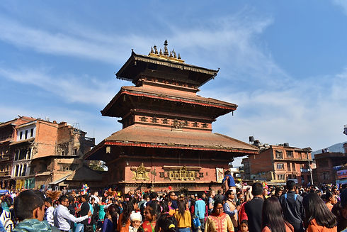 Temple in Bhaktapur, Nepal (Image by Anna Osowska)