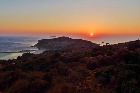 Balos Lagoon Sunset (Crete)