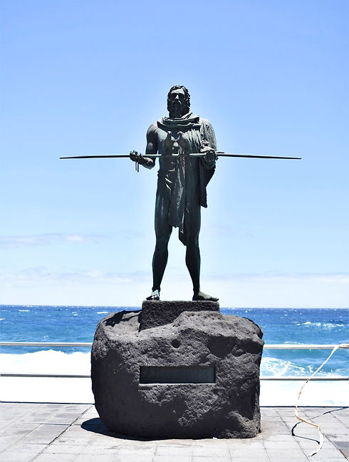 Candelaria - Guanches on Tenerife