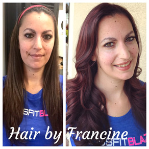 Partial Highlight, Base Color, Toner and Haircut Style
