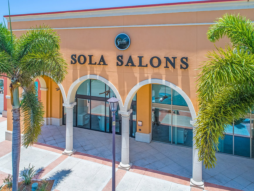 Sola Salons Outside