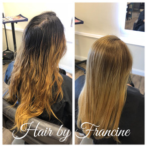 Full Balayage with Woman's Haircut & Style