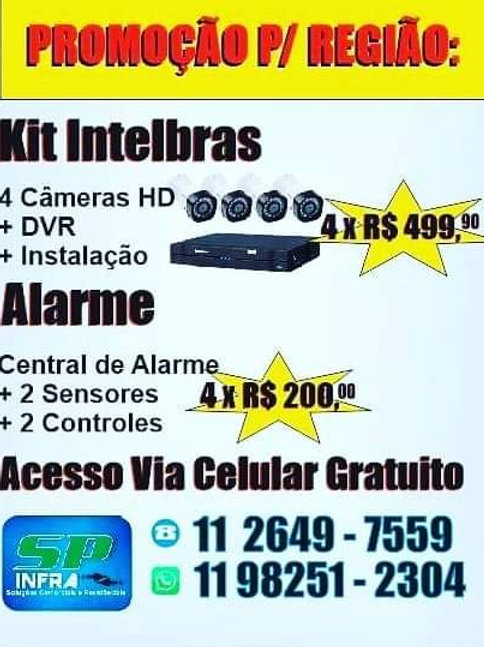 Cameras de vigilancia Intelbras