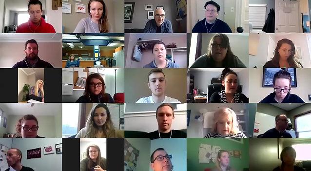 Virtual Huddle March 30, 11:15am