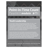 PiT Count -  Youth Leadership