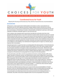 Coordinated Access Policy Brief