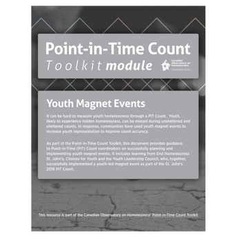 PiT Count - Youth Magnet Events
